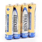Maxell Batterij Alkaline Lr03 / AAA Shrink * 4Szt [790233.04.Cn]