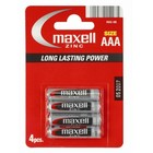 Maxell Battery Manganese/Zinc R03/Aaa Blister*4 774407.04.Eu