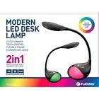 Platinet LED Bureaulamp met bedienings paneel [43598]