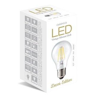 Omega Led Bulb Filament E27 2800K 4W