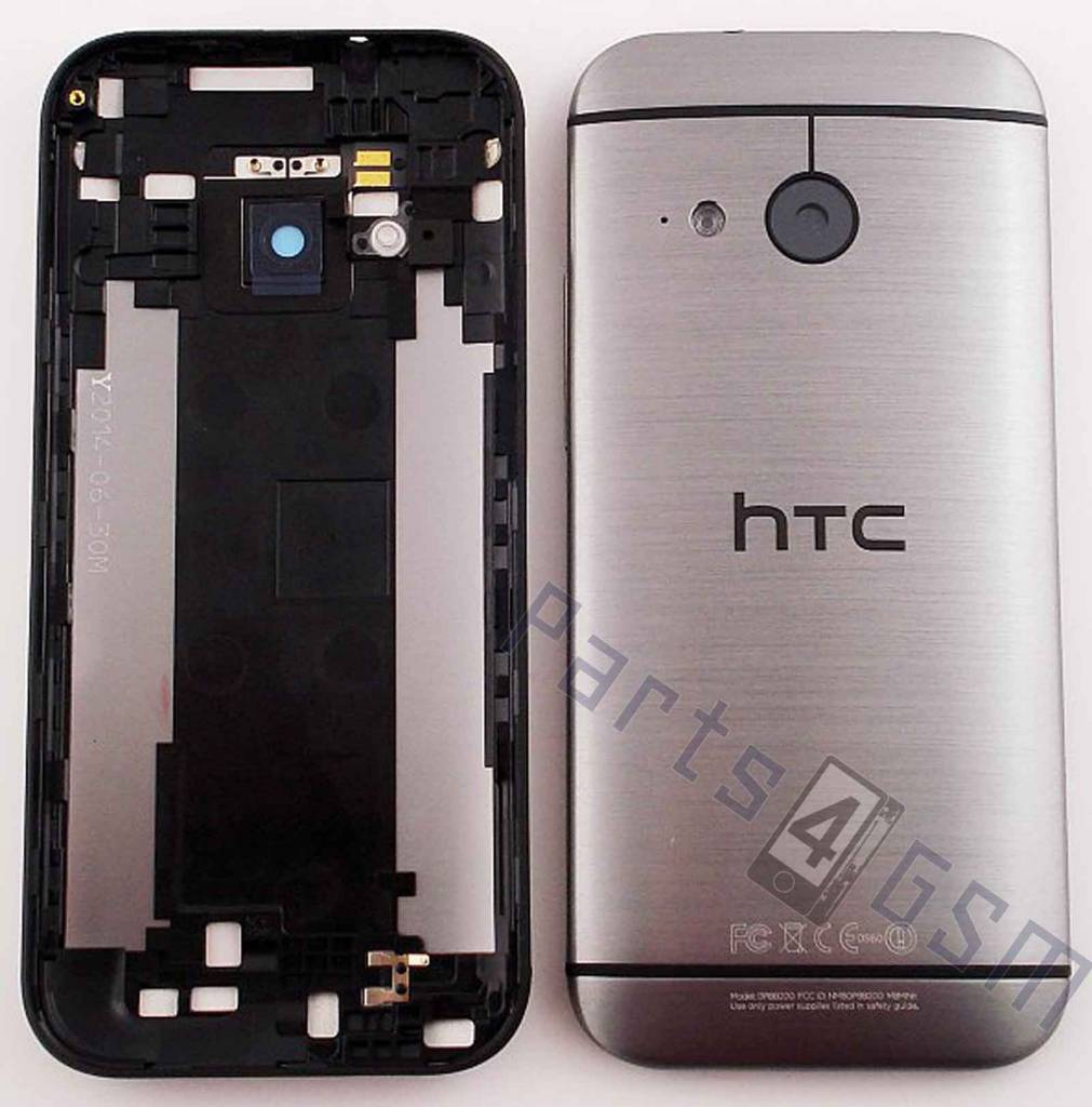 new concept 83058 a05b2 HTC One Mini 2 Back Cover, Grey, 83H40013-01 - Parts4GSM