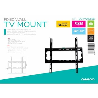 Omega Tv Mount Max Vesa 400 Fixed Oak [44240]