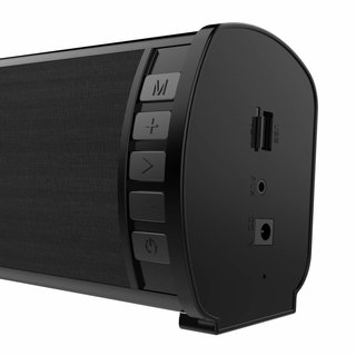 Omega Speaker Og88 Soundbar 40W Stereo Bluetooth V2.1 Black [44167]