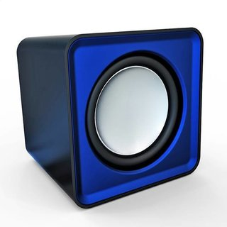 Omega Speakers 2.0 Og-01 Surveyor 6W Blue USB [41584]