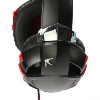 Omega Varr Headset Hi-Fi Stereo Mic Ovh5055 Red [44421]