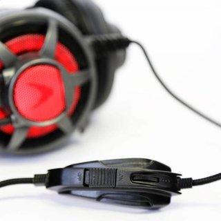 Varr Gaming Headset HiFi-stereo Met Microfoon, LED verlichting & vibratie Technologie Grijs [44409]