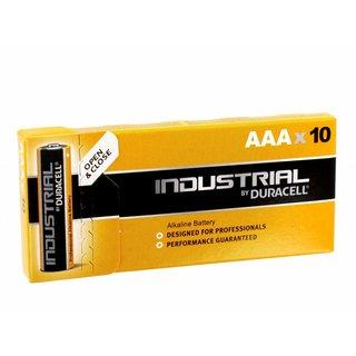 Duracell industriële batterijen Alkaline LR03 / AAA MN2400 10 * Pak