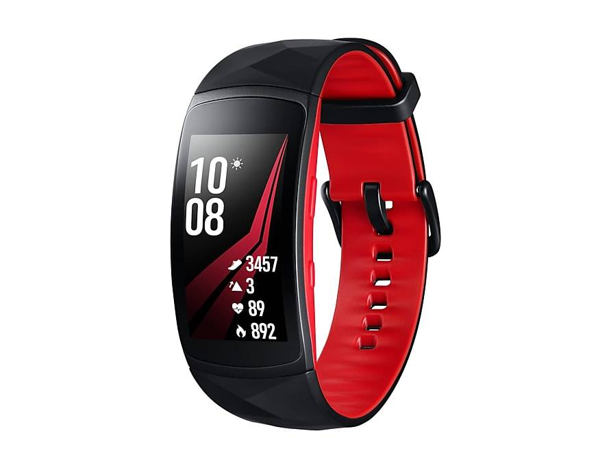 Samsung Gear Fit2 Pro - Rood - Large