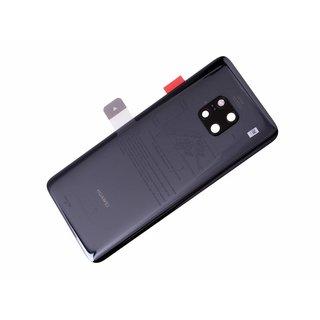 Huawei Mate 20 Pro Dual Sim (LYA-L29C) Battery Cover, Black, 02352GDC