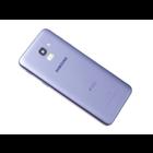 Samsung J600F/DS Galaxy J6 2018 Dual Sim Back Cover, Violet, DUOS Logo, GH82-16868B