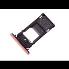 Sony Xperia XZ2 Compact Dual H8324 Sim + Speicherkarten Halter, Rosa, 1313-0976