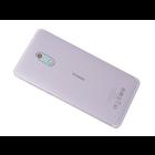 Nokia 6 Dual Sim (TA-1021) Achterbehuizing, Wit/Zilver, 20PLESW0016;20PLESW0019;20PLESW0004