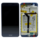 Huawei Honor 6C Pro (JMM-L22) LCD Display Module, Blue, Incl. Battery HB366481ECW, 02351NRT