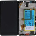 Huawei LCD Display Modul Honor 7 (PLK-L01), Schwarz, 02350MFN