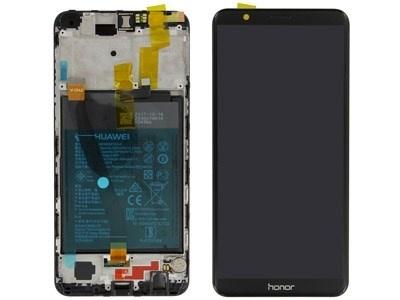 Huawei Honor 7X Dual Sim (BND-L21) LCD Display Module, Black