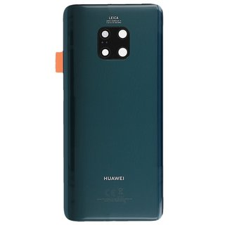 Huawei Mate 20 Pro Dual Sim (LYA-L29C) Accudeksel, Emerald Green/Groen, 02352GDF
