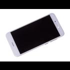 Huawei P8 Lite 2017 (PRA-L21) LCD Display Module, Wit, Incl. Battery HB366481ECW, 02351DNG;02351DYW