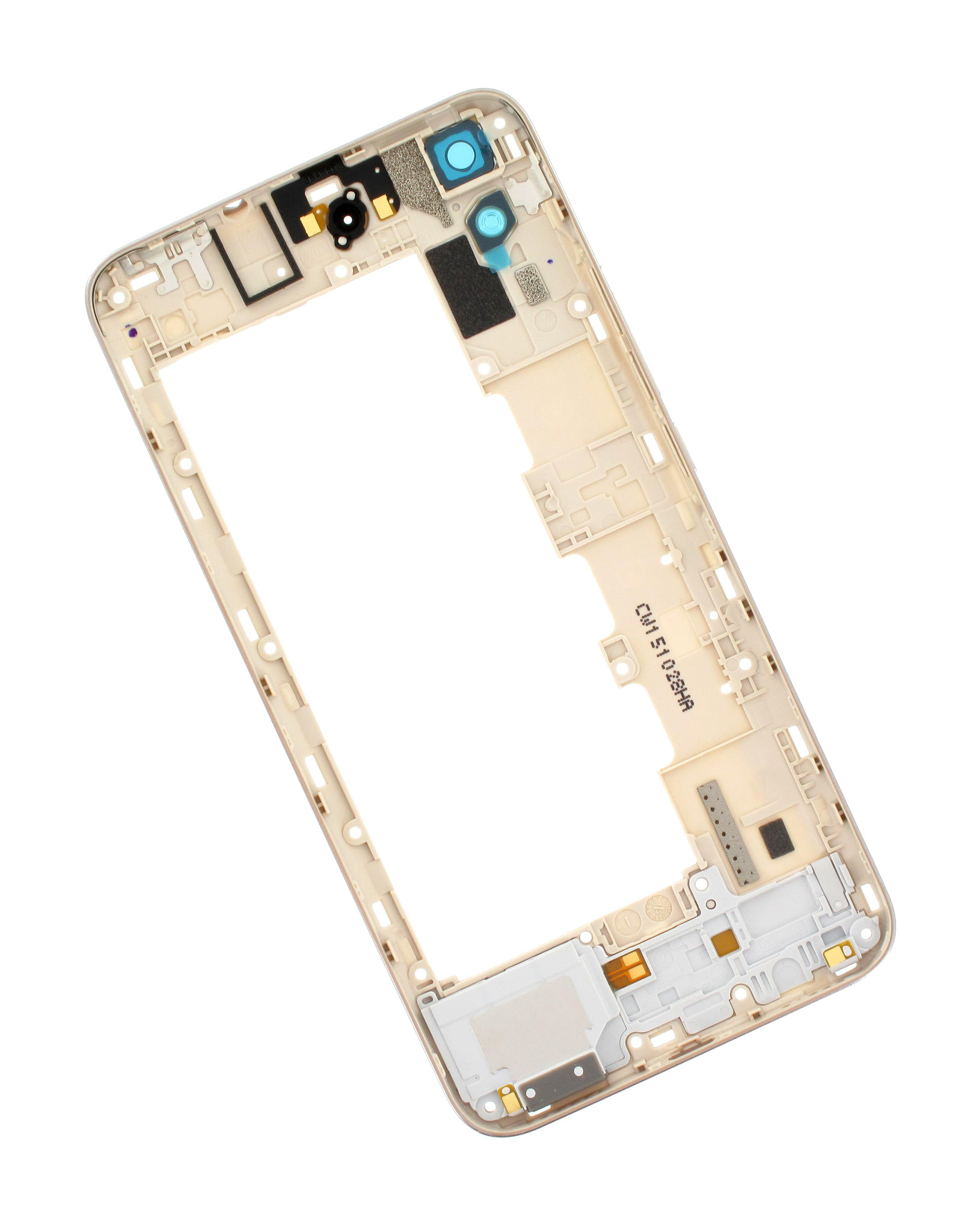 Huawei Y6 4G (SCL-L21) Middle Cover, White, 02350LUX - Parts4GSM
