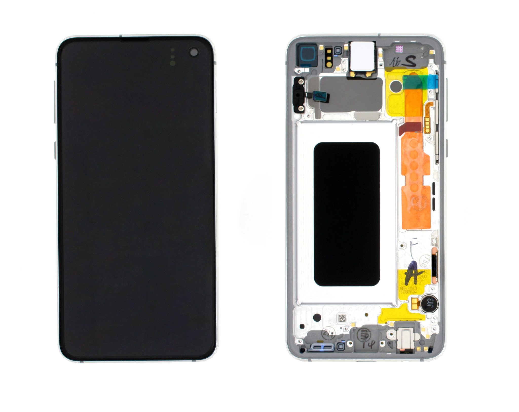 Samsung G970F Galaxy S10e LCD Display Module, Prism White