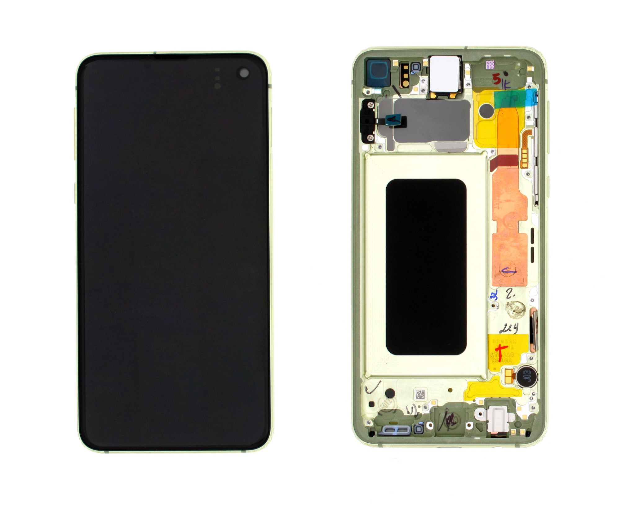 Samsung G970F Galaxy S10e LCD Display Module, Canary Yellow/Yellow, GH82-18852G