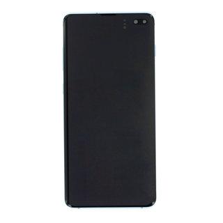 Samsung G975F Galaxy S10+ LCD Display Modul, Prism Blue/Blau, GH82-18849C