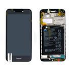 Huawei Honor 6A (DLI-AL10) LCD Display Modul, Dark Gray/Grau, Incl. Battery HB405979ECW, 02351KTW