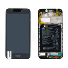 Huawei Honor 6A (DLI-AL10) LCD Display Module, Dark Gray/Grijs, Incl. Battery HB405979ECW, 02351KTW