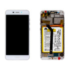 Huawei Honor 6C Pro (JMM-L22) LCD Display Module, Gold, Incl. Battery HB366481ECW, 02351LNB