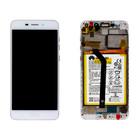 Huawei Honor 6C Pro (JMM-L22) LCD Display Module, Goud, Incl. Battery HB366481ECW, 02351LNB