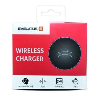 Evelatus Smalle Wireless Charger EWC02 - Schwarz