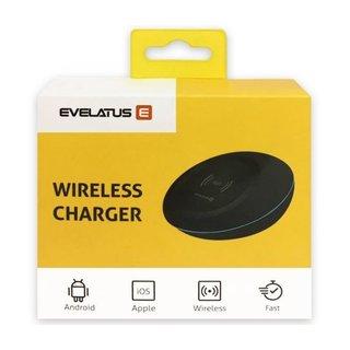Evelatus Wireless Charger EWC01 - 5V, 1.5A - 9V 1.2A - Black