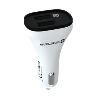 Evelatus Quick Charge Car Charger QCC02 - White