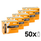 Duracell AA Penlite 50-pack Industrial Batterijen Alkaline