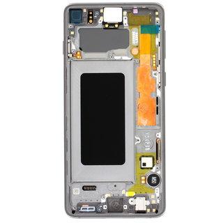 Samsung G973F Galaxy S10 LCD Display Modul, Prism Black/Schwarz, GH82-18850A;GH82-18835A