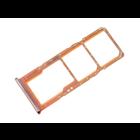 Samsung Galaxy A70 Sim + Memory Card Tray Holder, Coral/Orange, GH98-44196D