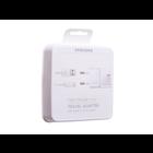 Samsung Ladegerät + USB Kabel Type-C, Weiß, Fast Charge 15W, EP-TA20EWECGWW