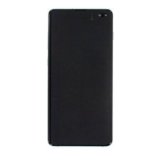 Samsung G975F Galaxy S10+ LCD Display Module, Prism Green/Groen, GH82-18849E