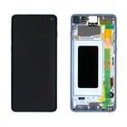 Samsung G973F Galaxy S10 LCD Display Module, Prism Blue/Blauw, GH82-18850C;GH82-18835C