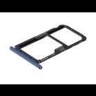 Huawei Mate 20 lite Sim- + Geheugenkaart Houder, Sapphire Blue/Blauw, 51661KAW
