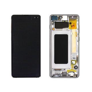 Samsung G975F Galaxy S10+ LCD Display Modul, Prism/Ceramic Black/Schwarz, GH82-18849A