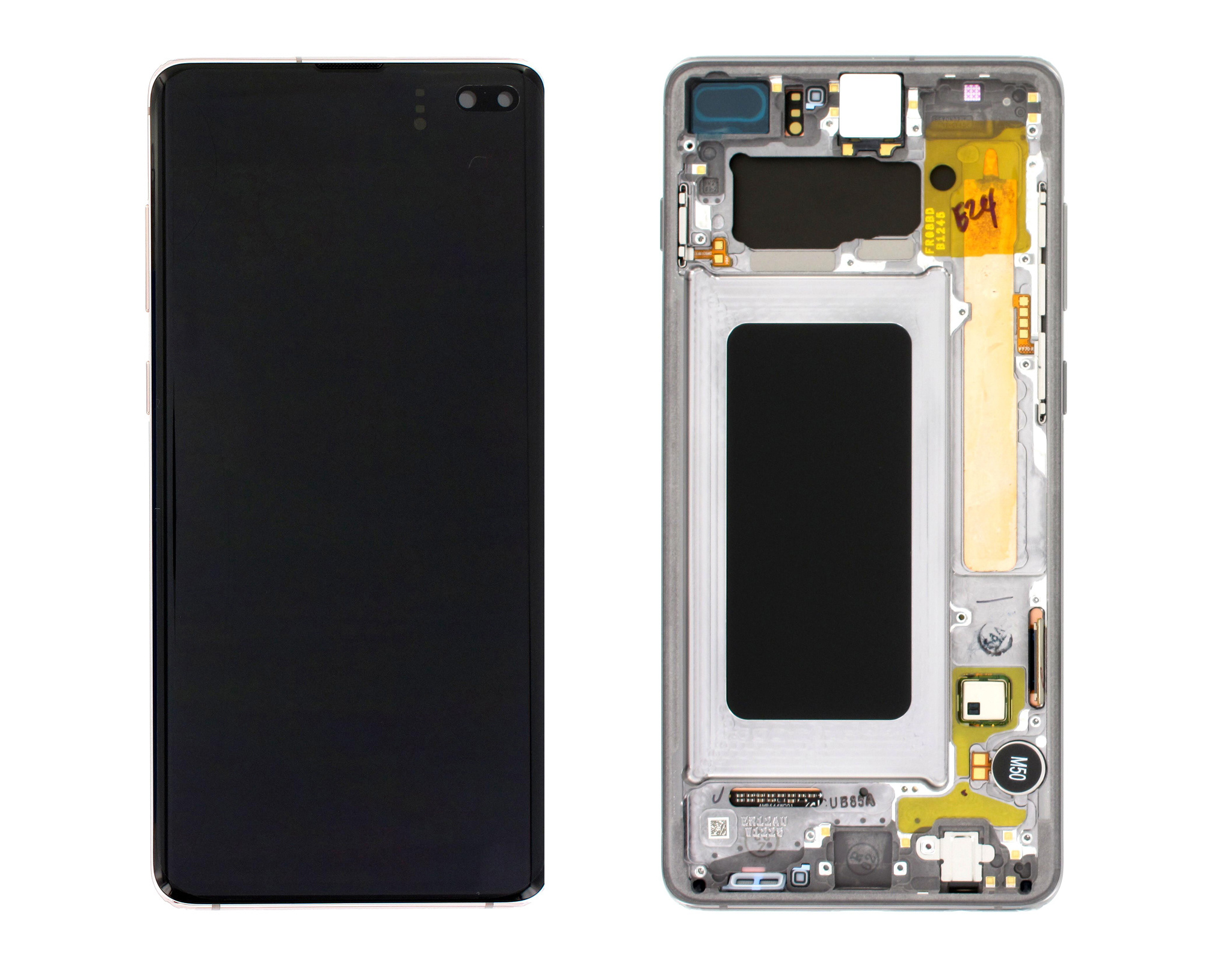 Samsung G975F Galaxy S10+ LCD Display Module, Prism/Ceramic Black, GH82-18849A