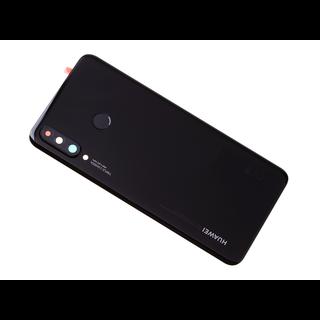 Huawei P30 Lite (MAR-L21) Accudeksel, Midnight Black/Zwart, 02352RPV