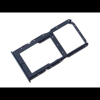 Huawei P30 Lite (MAR-L21) Sim- + Geheugenkaart Houder, Peacock Blue/Blauw, 51661LWN