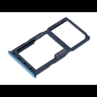 Huawei P30 Lite (MAR-L21) Sim + Memory Card Tray Holder, Peacock Blue/Blue, 51661LWN