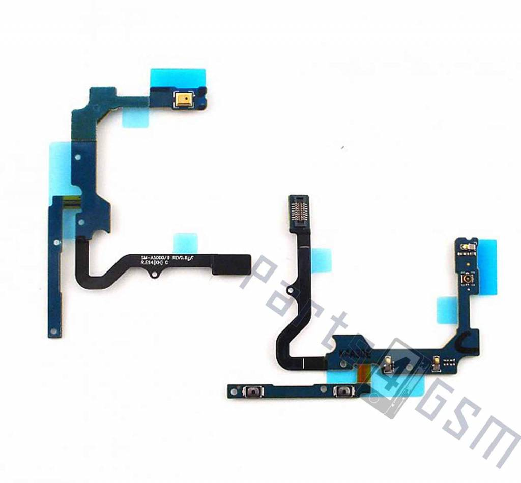 Samsung A500F Galaxy A5 Volume key flex cable, GH96-07642A - Parts4GSM