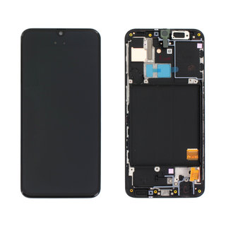 Samsung A405F/DS Galaxy A40 Display, Zwart, GH82-19672A;GH82-19674A