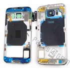 Samsung Middle Cover G920F Galaxy S6, Black, GH96-08583A;GH96-08561A