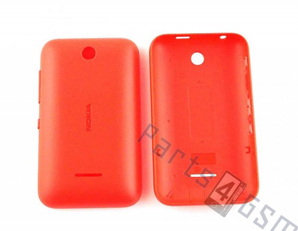 more photos fb6ee 8b9e9 Nokia Asha 230 Battery Cover, Red, 02506K7 - Parts4GSM