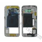 Samsung Mittel Gehäuse G925F Galaxy S6 Edge, Schwarz, GH96-08376A [EOL]