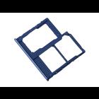 Samsung Galaxy A40 Sim- + Geheugenkaart Houder, Blauw, GH98-44303C